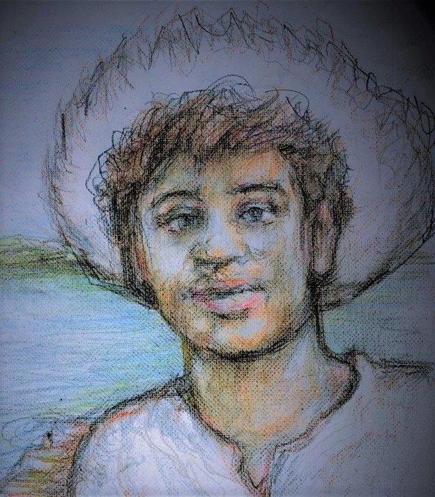 Huckleberry Finn by EddieLeCrayon